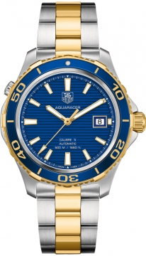 Tag Heuer Aquaracer Automatic 500M Calibre 5 Mens watch, model number - wak2120.bb0835, discount price of £2,080.00 from The Watch Source