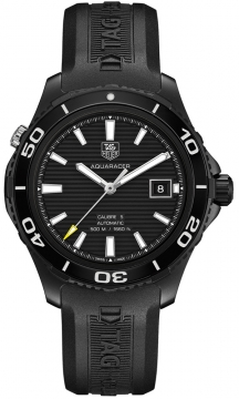 Tag Heuer Aquaracer Automatic 500M Calibre 5 Mens watch, model number - wak2180.ft6027, discount price of £2,009.00 from The Watch Source