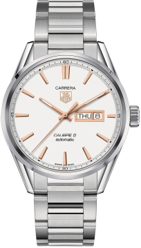 Buy this new Tag Heuer Carrera Caliber 5 Day Date war201d.ba0723 mens watch for the discount price of £1,997.00. UK Retailer.