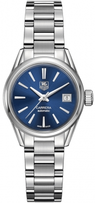 Buy this new Tag Heuer Carrera Automatic war2419.ba0776 ladies watch for the discount price of £1,487.00. UK Retailer.