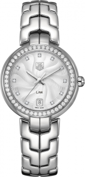 Tag Heuer Link Quartz 34mm Ladies watch, model number - WAT1316.BA0956, discount price of £3,977.00 from The Watch Source