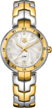 Tag Heuer Link Quartz 34mm Ladies watch, model number - WAT1350.BB0957, discount price of £3,840.00 from The Watch Source