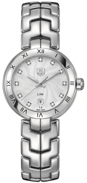 Tag Heuer Link 29mm Ladies watch, model number - WAT1411.BA0954, discount price of £1,960.00 from The Watch Source