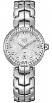 Tag Heuer Link 29mm Ladies watch, model number - WAT1414.BA0954, discount price of £3,440.00 from The Watch Source