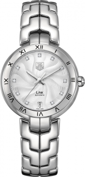 Tag Heuer Link Automatic 34.5mm Ladies watch, model number - wat2311.BA0956, discount price of £2,829.00 from The Watch Source