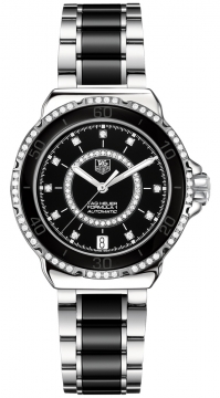 Tag Heuer Formula 1 Automatic 37mm Ladies watch, model number - WAU2212.BA0859, discount price of £2,747.00 from The Watch Source