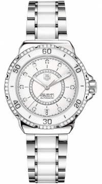 Tag Heuer Formula 1 Automatic 37mm Ladies watch, model number - WAU2213.BA0861, discount price of £2,747.00 from The Watch Source