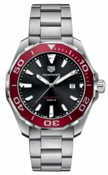 Buy this new Tag Heuer Aquaracer Quartz 43mm WAY101B.BA0746 mens watch for the discount price of £1,232.00. UK Retailer.