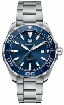 Buy this new Tag Heuer Aquaracer Quartz 43mm WAY101C.BA0746 mens watch for the discount price of £1,190.00. UK Retailer.