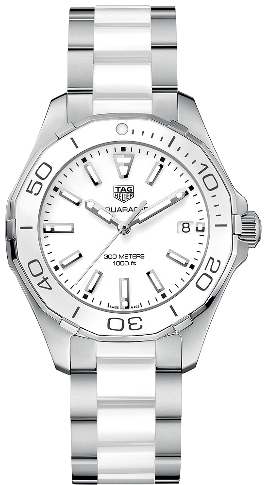 bfc6d891699 Buy this new Tag Heuer Aquaracer Quartz Ladies 35mm way131b.ba0914 ...