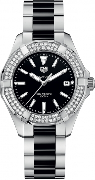 Buy this new Tag Heuer Aquaracer Quartz Ladies 35mm way131e.ba0913 ladies watch for the discount price of £2,167.00. UK Retailer.