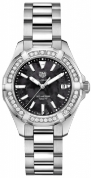 Buy this new Tag Heuer Aquaracer Quartz Ladies 35mm way131p.ba0748 ladies watch for the discount price of £2,337.00. UK Retailer.