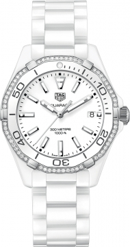 Tag Heuer Aquaracer Quartz Ladies 35mm way1396.bh0717 watch