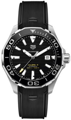 Buy this new Tag Heuer Aquaracer Automatic 43mm way201a.ft6142 mens watch for the discount price of £1,780.00. UK Retailer.