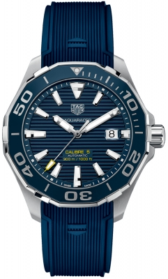 Buy this new Tag Heuer Aquaracer Automatic 43mm way201b.ft6150 mens watch for the discount price of £1,780.00. UK Retailer.