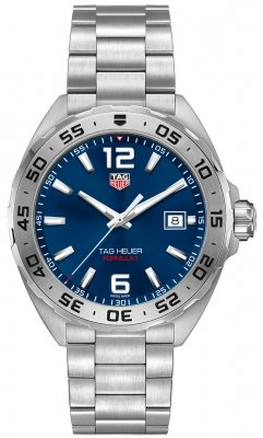 Buy this new Tag Heuer Formula 1 Quartz 41mm waz1118.ba0875 mens watch for the discount price of £892.00. UK Retailer.