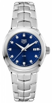 Buy this new Tag Heuer Link Quartz 32mm wbc1318.ba0600 ladies watch for the discount price of £1,615.00. UK Retailer.