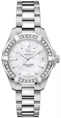 Tag Heuer Aquaracer Quartz Ladies 32mm wbd1313.ba0740 watch