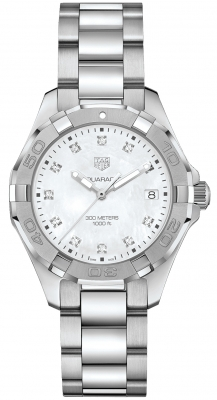 Tag Heuer Aquaracer Quartz Ladies 35mm wbd131b.ba0748 watch