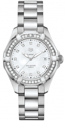 Tag Heuer Aquaracer Quartz Ladies 35mm wbd131c.ba0748 watch