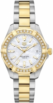 Tag Heuer Aquaracer Quartz Ladies 32mm wbd1321.bb0320 watch