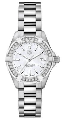 Tag Heuer Aquaracer Quartz Ladies 27mm wbd1413.ba0741 watch