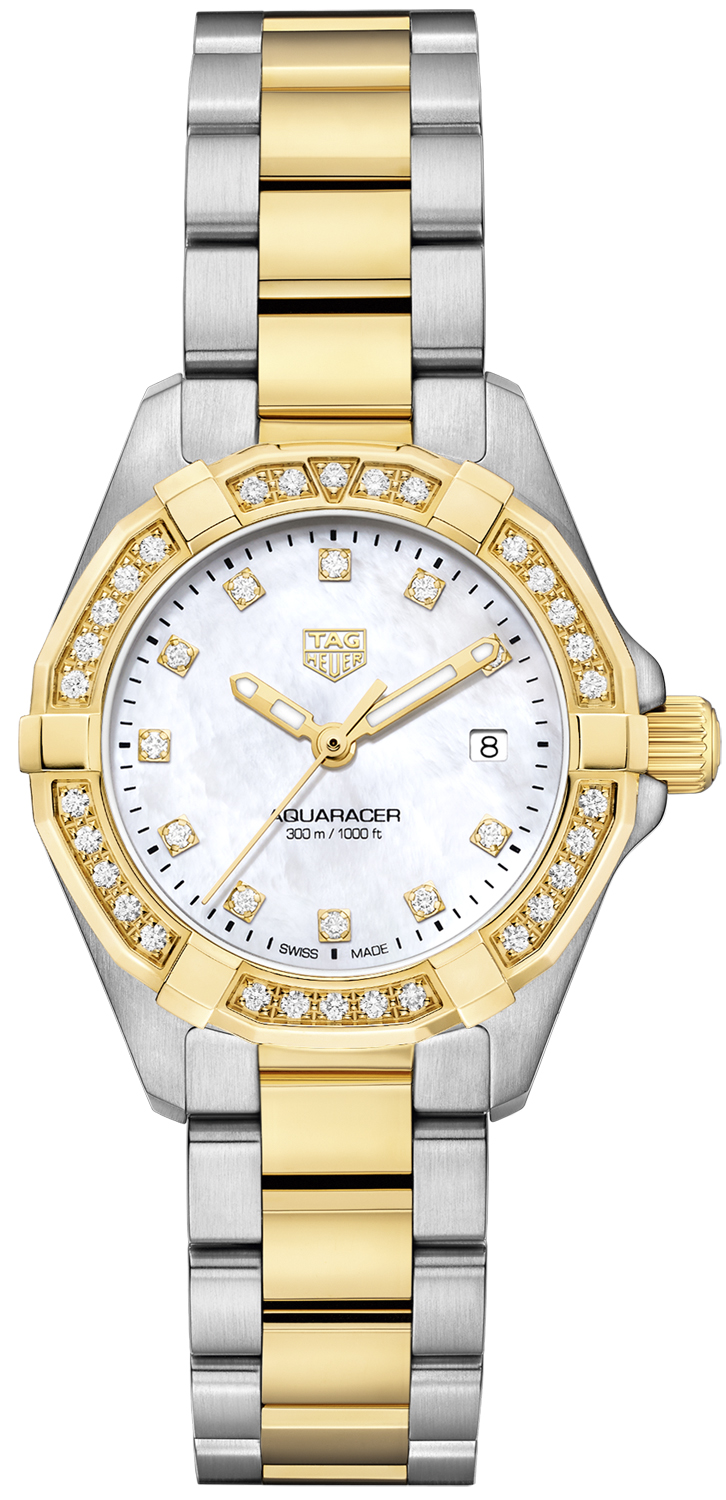 Buy this new tag heuer aquaracer quartz ladies 32mm ladies watch for the discount for Tag heuer discount