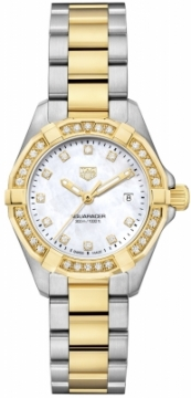 Buy this new Tag Heuer Aquaracer Quartz Ladies 27mm wbd1423.bb0321 ladies watch for the discount price of £2,847.00. UK Retailer.