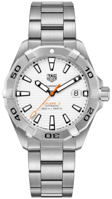 Buy this new Tag Heuer Aquaracer Automatic 41mm wbd2111.ba0928 mens watch for the discount price of £1,487.00. UK Retailer.