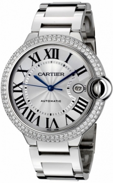 Cartier Ballon Bleu 42mm Mens watch, model number - we9009z3, discount price of £41,905.00 from The Watch Source