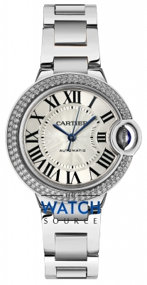 Buy this new Cartier Ballon Bleu 33mm we902035 ladies watch for the discount price of £30,420.00. UK Retailer.