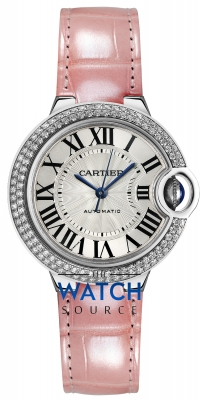 Buy this new Cartier Ballon Bleu 33mm we902067 ladies watch for the discount price of £22,320.00. UK Retailer.