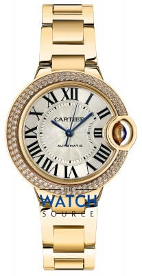 Buy this new Cartier Ballon Bleu 33mm wjbb0002 ladies watch for the discount price of £28,980.00. UK Retailer.