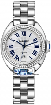 Buy this new Cartier Cle De Cartier Automatic 31mm wjcl0002 ladies watch for the discount price of £27,450.00. UK Retailer.