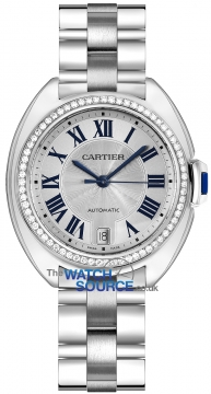 Buy this new Cartier Cle De Cartier Automatic 35mm WJCL0007 ladies watch for the discount price of £34,110.00. UK Retailer.