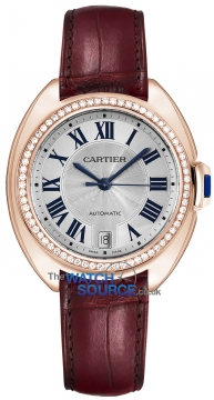 Buy this new Cartier Cle De Cartier Automatic 35mm WJCL0013 ladies watch for the discount price of £22,050.00. UK Retailer.