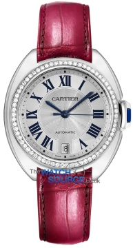 Buy this new Cartier Cle De Cartier Automatic 35mm WJCL0014 ladies watch for the discount price of £23,580.00. UK Retailer.