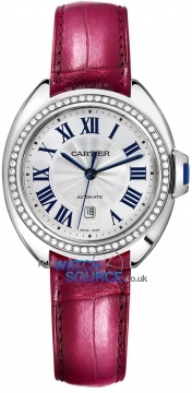 Buy this new Cartier Cle De Cartier Automatic 31mm wjcl0015 ladies watch for the discount price of £20,160.00. UK Retailer.