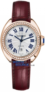 Buy this new Cartier Cle De Cartier Automatic 35mm WJCL0023 ladies watch for the discount price of £31,680.00. UK Retailer.