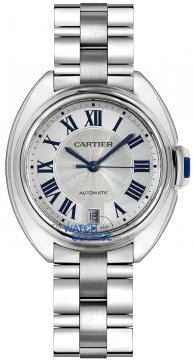 Buy this new Cartier Cle De Cartier Automatic 35mm WSCL0006 ladies watch for the discount price of £3,915.00. UK Retailer.
