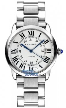 Buy this new Cartier Ronde Solo Automatic 36mm wsrn0012 ladies watch for the discount price of £2,610.00. UK Retailer.