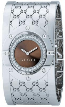 Gucci 112 Twirl Series Ladies watch, model number - YA112416, discount price of £1,740.00 from The Watch Source