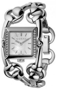 Gucci 116 Signoria Ladies watch, model number - YA116307, discount price of £1,185.00 from The Watch Source