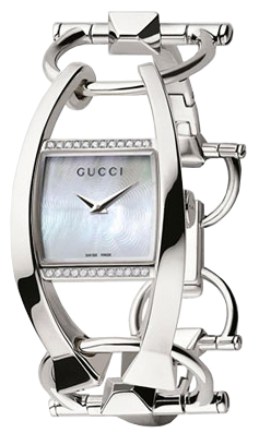 ae0437d8fb1 Buy this new Gucci Chiodo 123 Series YA123503 ladies watch for the ...