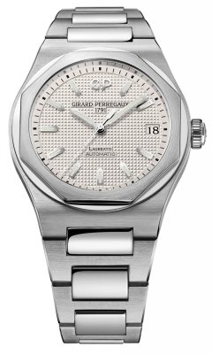 Buy this new Girard Perregaux Laureato Automatic 42mm 81010-11-131-11a mens watch for the discount price of £6,800.00. UK Retailer.