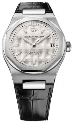 Girard Perregaux Laureato Automatic 42mm 81010-11-131-bb6a watch