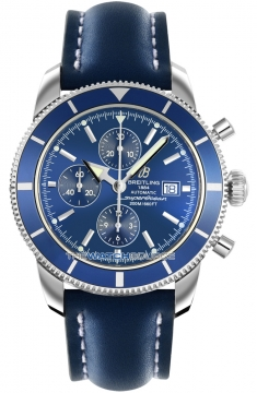 Breitling Superocean Heritage Chronograph Mens watch, model number - a1332016/c758-3lt, discount price of £3,748.00 from The Watch Source