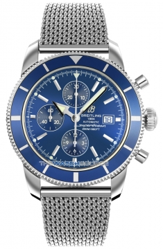 Breitling Superocean Heritage Chronograph Mens watch, model number - a1332016/c758-ss, discount price of £4,105.00 from The Watch Source