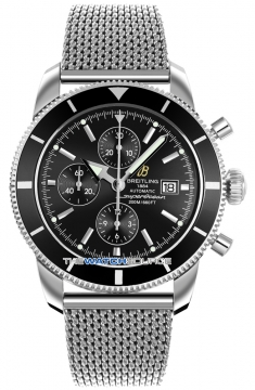 Breitling Superocean Heritage Chronograph Mens watch, model number - a1332024/b908-ss, discount price of £3,760.00 from The Watch Source
