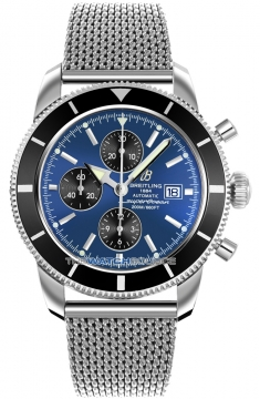Breitling Superocean Heritage Chronograph Mens watch, model number - a1332024/c817-ss, discount price of £3,760.00 from The Watch Source